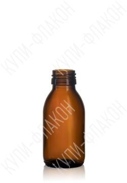 100мл флакон для сиропа (коричневый)