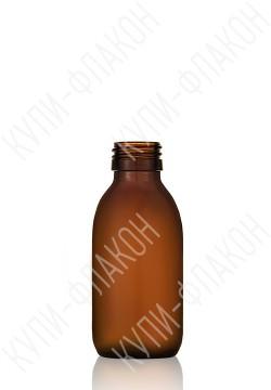 125мл флакон для сиропа (коричневый)