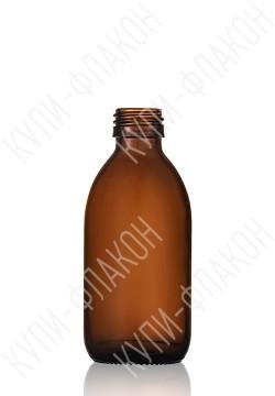 200мл флакон для сиропа (коричневый)
