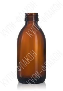 250мл флакон для сиропа (коричневый)