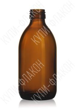 300мл флакон для сиропа (коричневый)