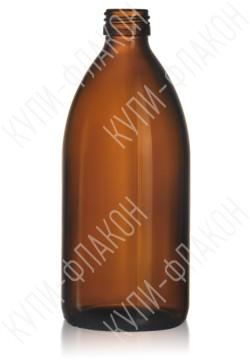 500мл флакон для сиропа (коричневый)