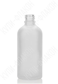 100мл флакон бесцветный (матовый)