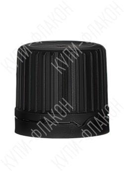 Крышка с капельницей для водно-спиртовых смесей (черная)