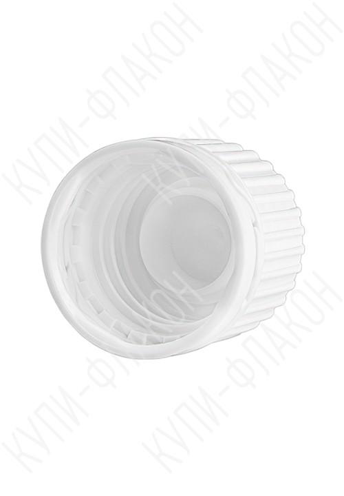 Крышка с запорным конусом (белая) GL18