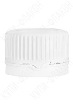 Крышка с запорным конусом (белая) PP28