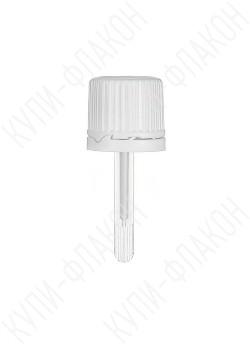 Крышка белая с лопаткой (10мл)